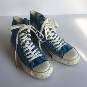 Converse All Stars Turquoise High Top Sneakers